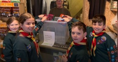 Studley Cub Scouts up for crisp packet fundraising and recycling drive
