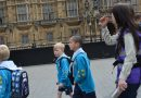 Countesthorpe's Beavers Cubs and Scouts have their say in Parliament!